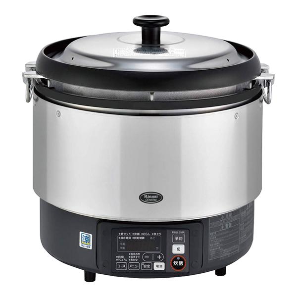 リンナイ ガス炊飯器αかまど炊き RR-S300G 12.13A【厨房館】<br>【メーカー直送/代引不可】