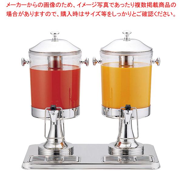 KINGO ジュースディスペンサー 10402-2 6L×2 【厨房館】