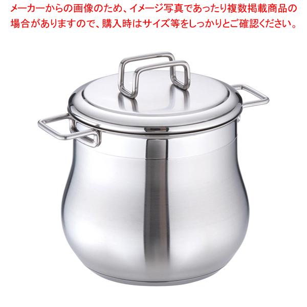 18-10タミー ストックポット(蓋付) 14cm 【厨房館】