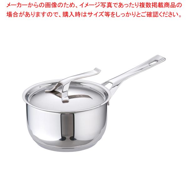 18-10マイポット ソースパン(蓋付) 16cm 【厨房館】