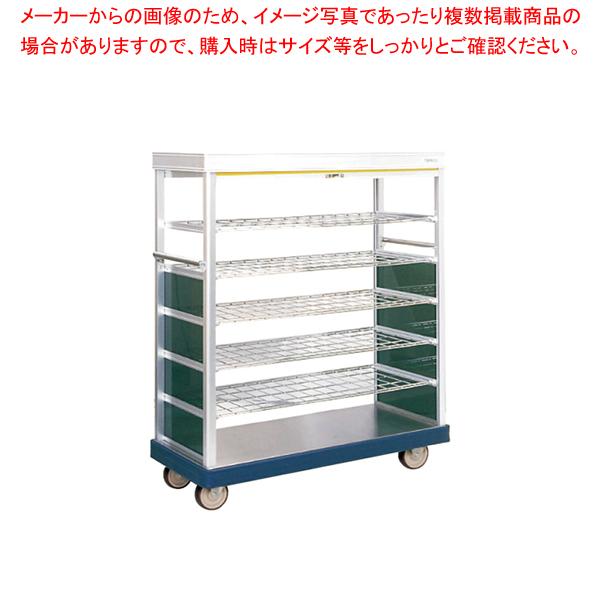 ロールカーテン付配膳車 TH65-30S ストッパー無 【厨房館】
