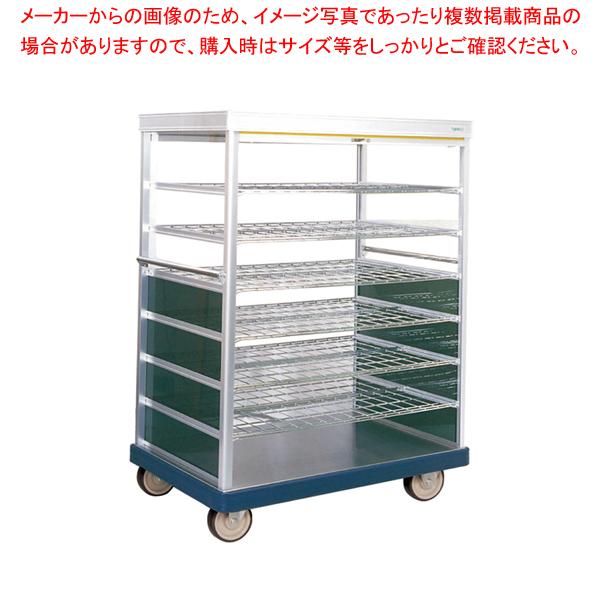 ロールカーテン付配膳車 TH39-27 ストッパー無 【厨房館】