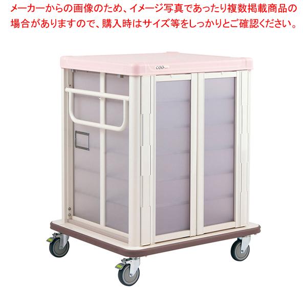 常温配膳車 扉式 リフトタイプ JCTL24SPシュガーピンク 【厨房館】