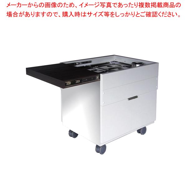 ユニットケア用スマートワゴン 10人~15人対応型【ECJ】【厨房用品 調理器具 料理道具 小物 作業 】