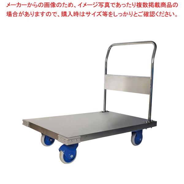 静音ステンレス台車(ハンドル固定式) SUS-302GS【 メーカー直送/後払い決済不可 】 【厨房館】