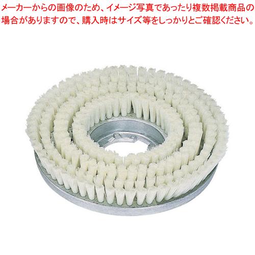 フロアポリッシャー12インチ用オプション メタルバックブラシ(三ッ爪) 【厨房館】