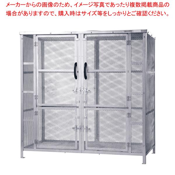 大型集積保管庫 ジャンボメッシュ ST-2450【 メーカー直送/代引不可 】 【厨房館】