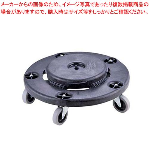 丸型ドーリー No.2640 (ブラック) 【厨房館】