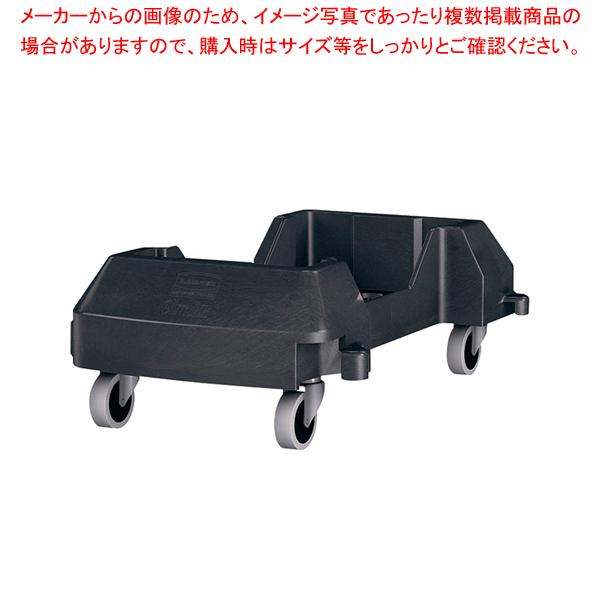 スリムジムコンテナ レジンドーリー RM1980602BKブラック 【厨房館】