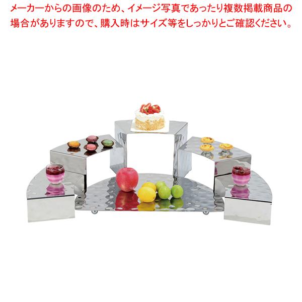 KINGO コンビネーションディスプレイ ステンレスベース 【厨房館】