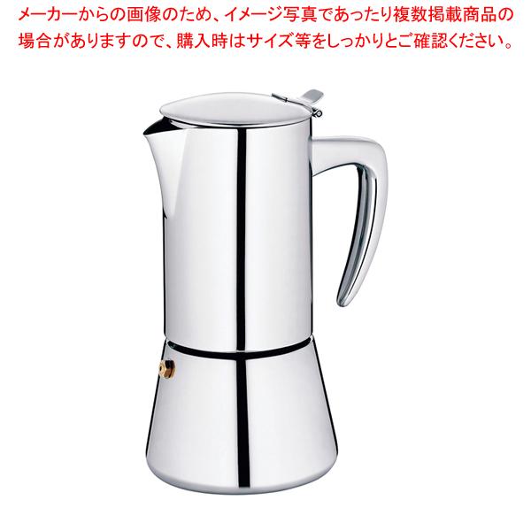エスプレッソコーヒーメーカー ラティーナ 6カップ 10836 【厨房館】