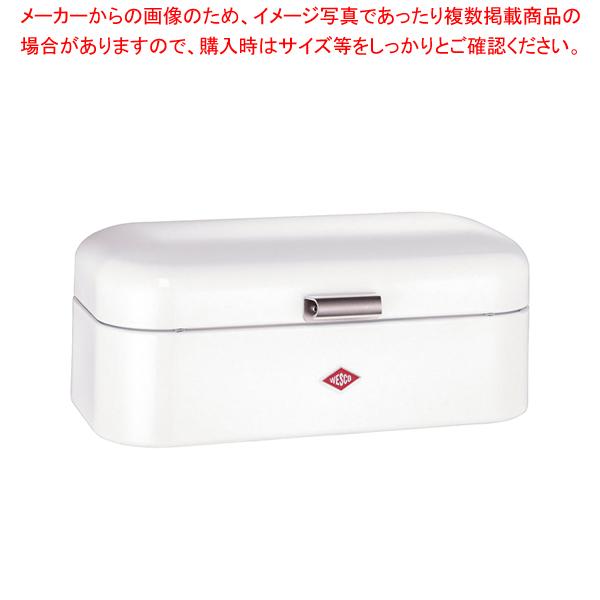 ウエスコ グランディ ブレッドボックス L ホワイト 【厨房館】