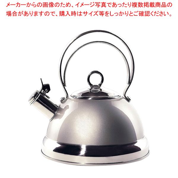ウエスコ ウォーターケトル メタリックシルバー 【厨房館】