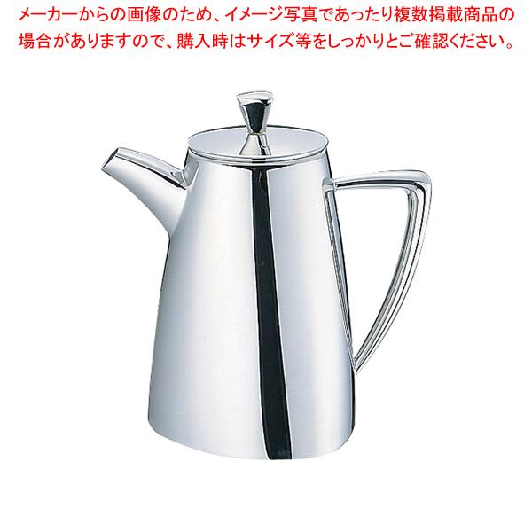 UK18-8トライアングルシリーズ コーヒーポット 5~7人用【厨房館】【コーヒーポット】