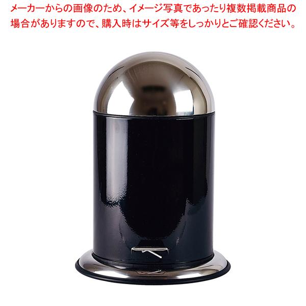 ゾーン ペダルビン 5L 252551 ブラック 【厨房館】