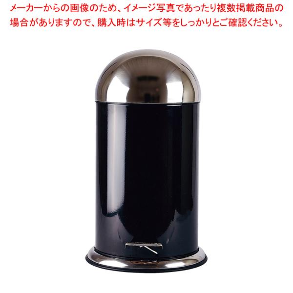 ゾーン ペダルビン 12L 252552 ブラック 【厨房館】