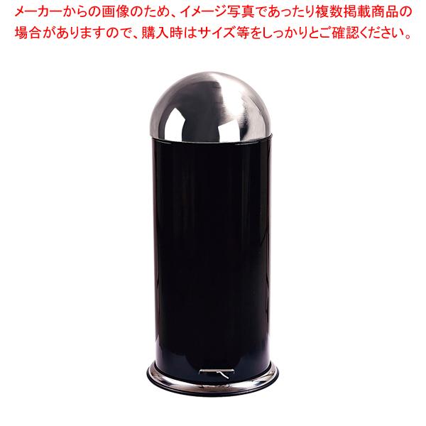 ゾーン ペダルビン 30L 261131 ブラック 【厨房館】