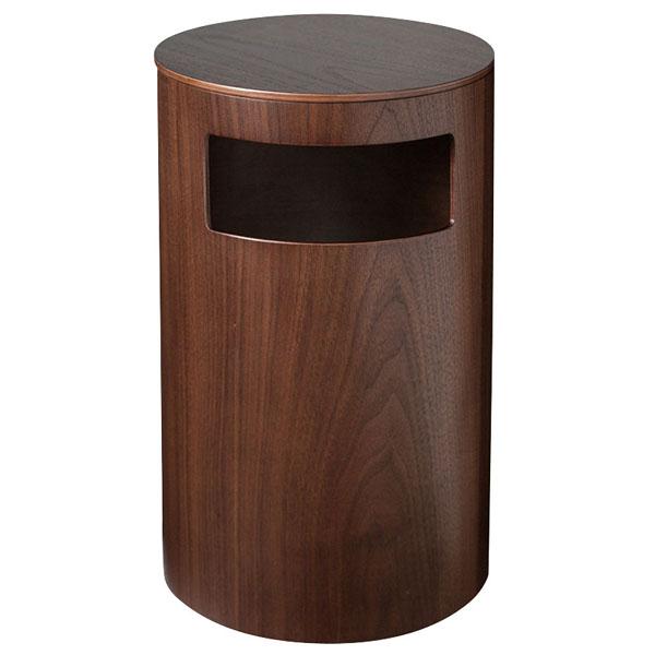木製 テーブル&ダストボックス 990WN ウォールナット 【厨房館】