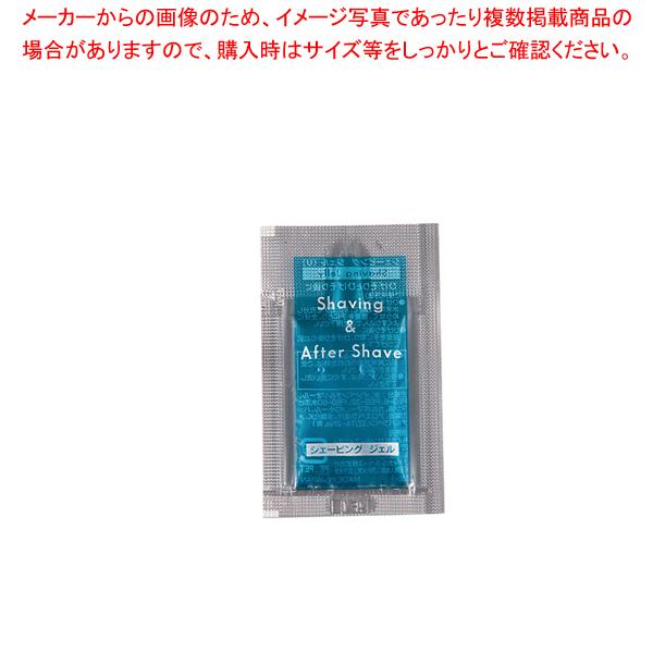 シェービング&アフターシェービングジェル 2g(1500入) 【厨房館】