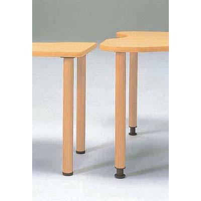 システムテーブル用アジャスター脚 4本組 SLS1700AJ・NB・LO【 部品テーブル脚のみ 】 【厨房館】