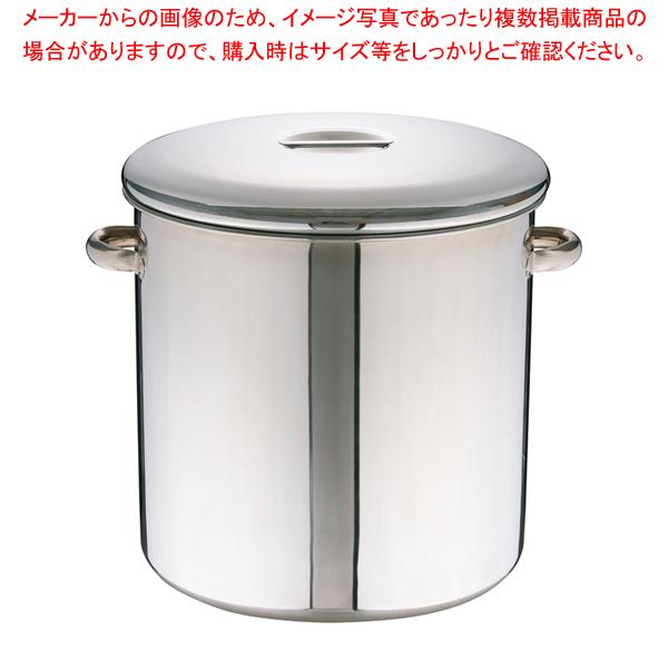 エコクリーン18-8内蓋式キッチンポット 50cm(手付)【 キッチンポット 丸型 】 【厨房館】