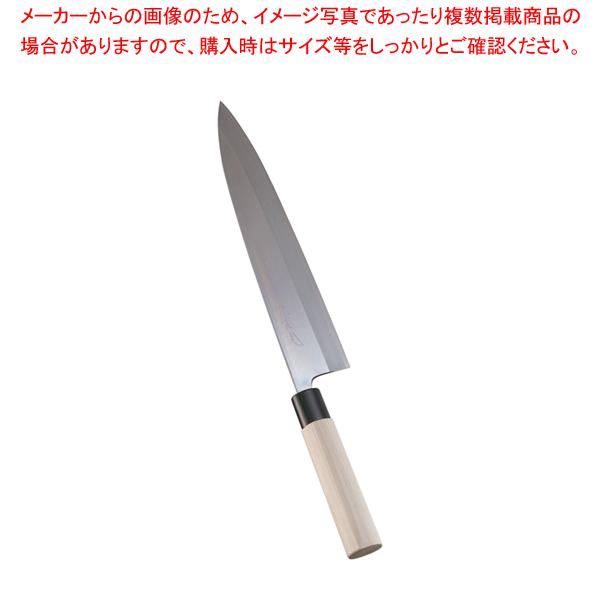 堺實光 特製霞 身卸(片刃) 30cm 34426 【厨房館】