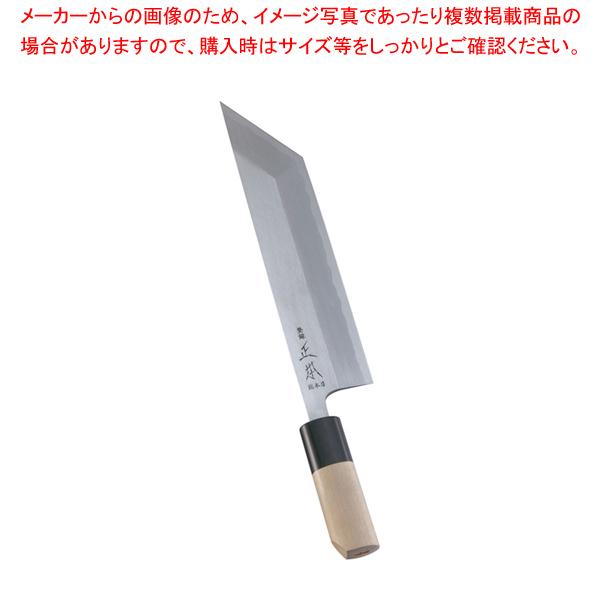 正本 本霞・玉白鋼 鰻サキ庖丁 21cm 【厨房館】