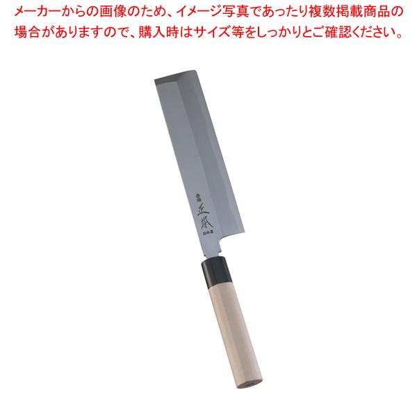 正本 本霞・玉白鋼 東型薄刃庖丁 21cm 【厨房館】