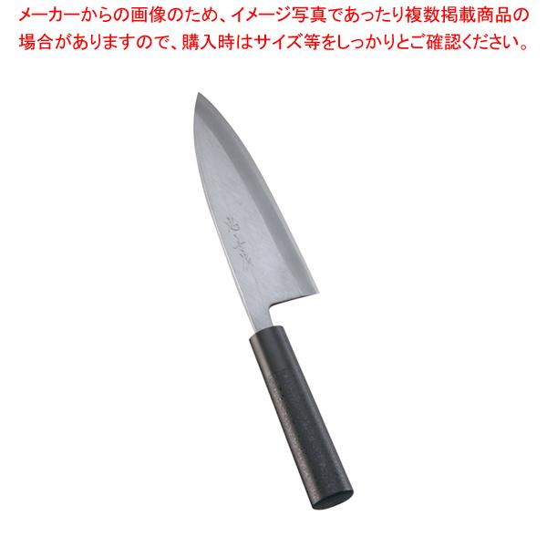 歌舞伎調和庖丁 忠舟 出刃 18cm 黒石目【 和包丁 出刃包丁 】 【厨房館】