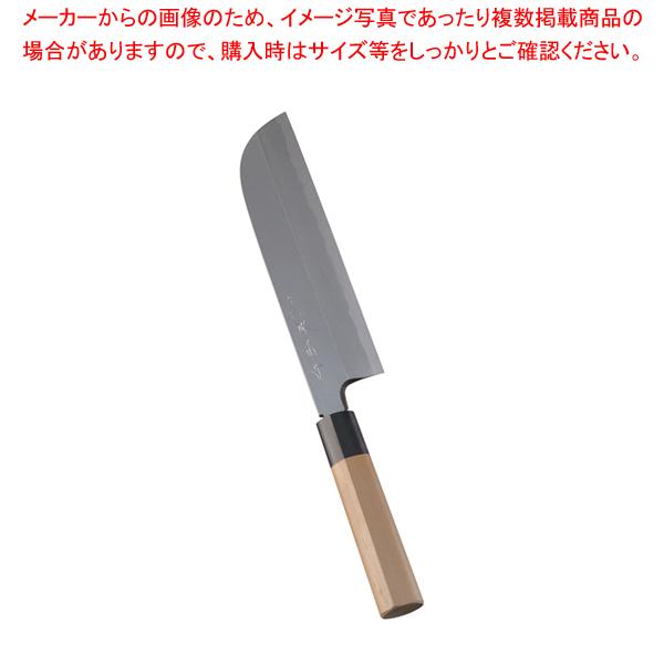 堺 菊守 極上 鎌形薄刃 22.5cm 【厨房館】
