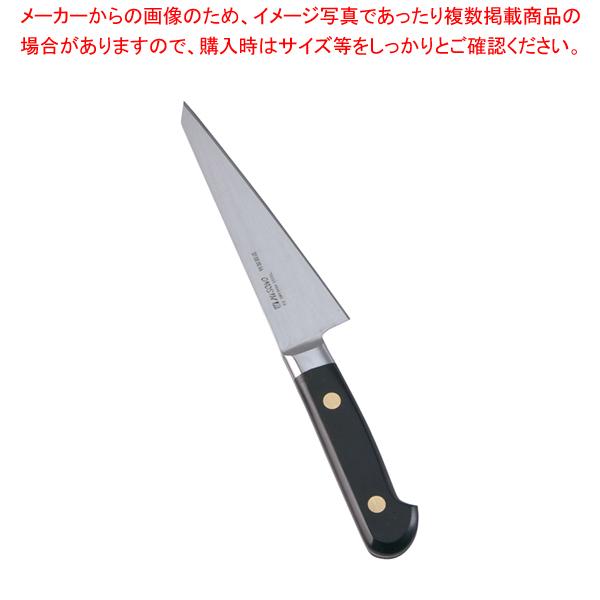 ミソノ・スウェーデン鋼骨すき角型No.141 (東型鳥魚庖丁)14.5cm 【厨房館】