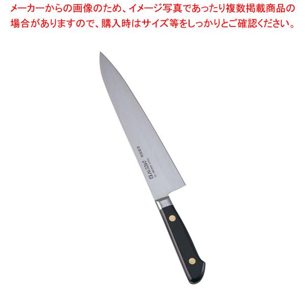 ミソノ・スウェーデン鋼 牛刀 No.112 21cm 【厨房館】