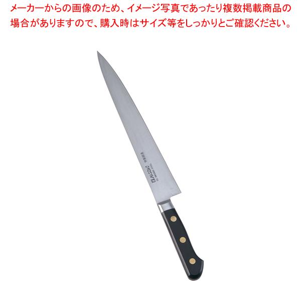 ミソノ・スウェーデン鋼 筋引 No.121 24cm 【厨房館】