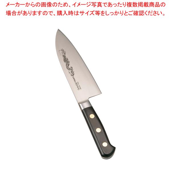 ミソノ・スウェーデン鋼(龍彫刻入)洋出刃 No.150M 16.5cm 【厨房館】