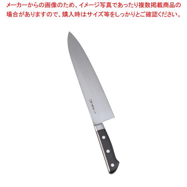 堺菊守日本鋼(口金付)洋出刃 27cm【 洋包丁 洋出刃 】 【厨房館】