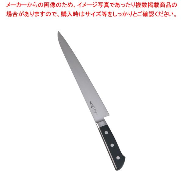 正広 本職用日本鋼 筋引 13018 27cm 【厨房館】