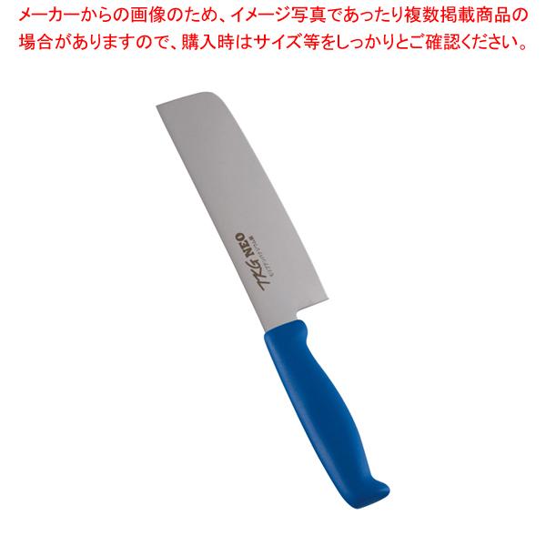 6-0307-0504 5-0278-0504 TKG-NEO(ネオ)カラー 薄刃 16.5cm ブルー 【厨房館】