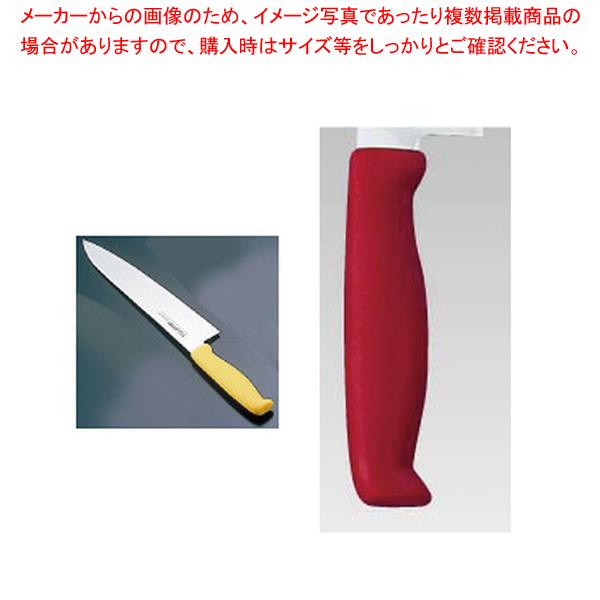 エコクリーン トウジロウ カラー牛刀 21cmレッド E-166R 【厨房館】