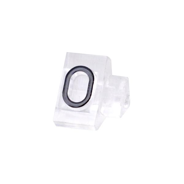セール品 tmy-07107cl0 ハイクオリティ ニュープライスキューブ補充用単品S用 透明 0 黒文字 厨房館