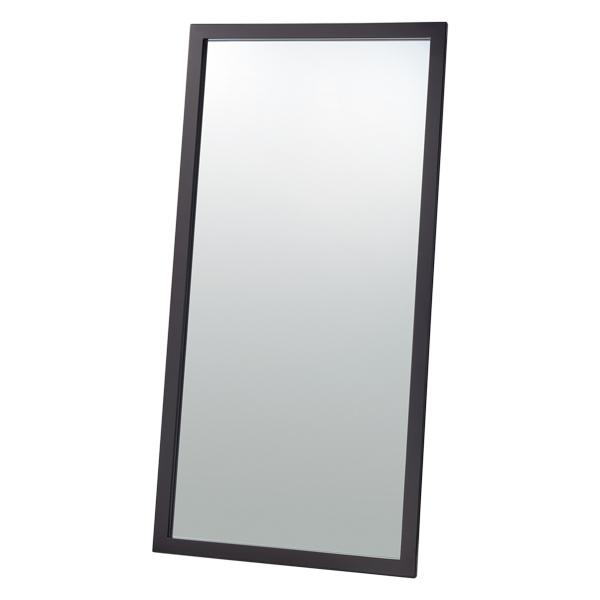 大型立掛けミラー(鏡5mm)ダークブラウン 【厨房館】