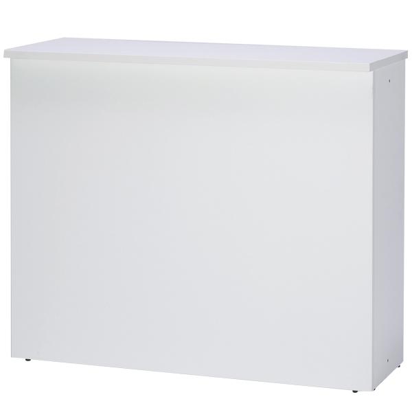 ハイカウンター W1200 ホワイト 【厨房館】