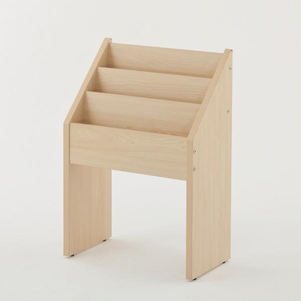 木製マガジンラック ナチュラル 【厨房館】