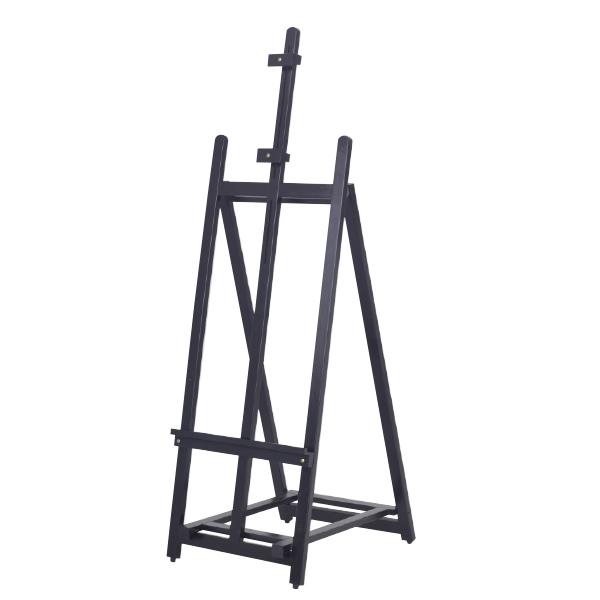 ウェイタブル木製イーゼル160 ブラック 【厨房館】