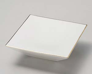 【まとめ買い10個セット品】和食器 カ022-137 艶ホワイトスクエアー台皿【キャンセル/返品不可】【厨房館】