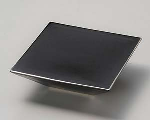 【まとめ買い10個セット品】和食器 カ022-156 艶ブラックスクエアー台皿 【キャンセル/返品不可】【厨房館】