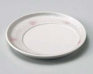 【まとめ買い10個セット品】和食器 ミ027-166 ピンクボカシラスタースライド皿 【キャンセル/返品不可】【厨房館】
