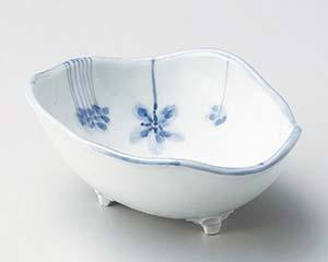 【まとめ買い10個セット品】和食器 ロ051-116 青磁花画小鉢 【キャンセル/返品不可】【厨房館】