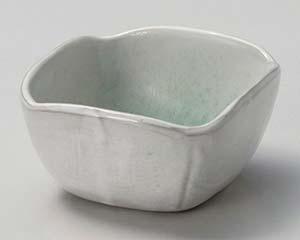 和食器 ロ063-096 新緑角小鉢