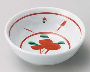 和食器 ホ063-186 赤絵花3.0鉢