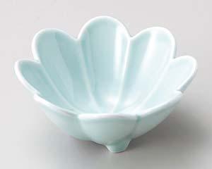 和食器 ウ064-316 ヒスイ菊割小鉢